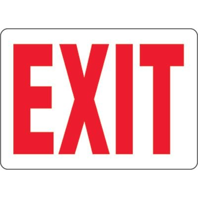 Eco-Friendly Exit Signs