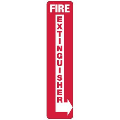Fire Extinguisher (Right Arrow) - Industrial Fire Signs