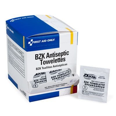 First Aid Only® BZK Antiseptic Towelettes H307