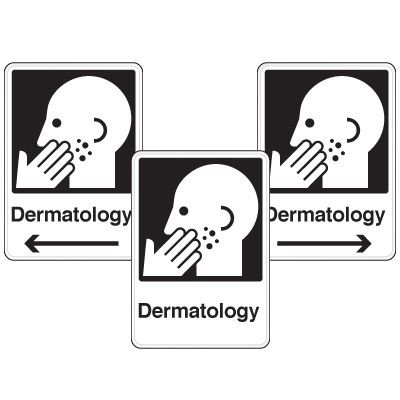 Health Care Facility Wayfinding Signs - Dermatology