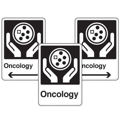 Health Care Facility Wayfinding Signs - Oncology