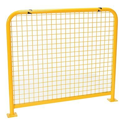 High-Profile Machinery Guards With Welded Mesh