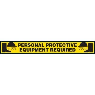 Label- Personal Protective Equipment Required