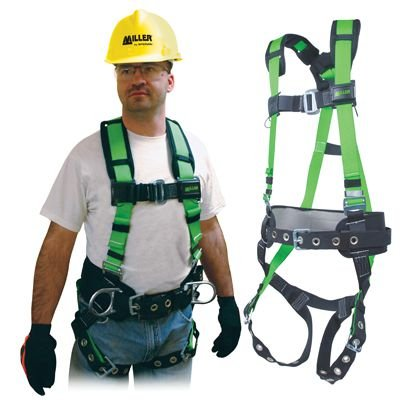 Miller® Contractor Non-Stretch Harness