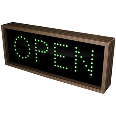 Open Direct View Sign