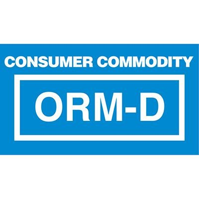 Consumer Commodity ORM Shipment Labels