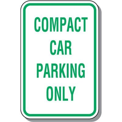 Property Parking Signs - Compact Car Parking Only
