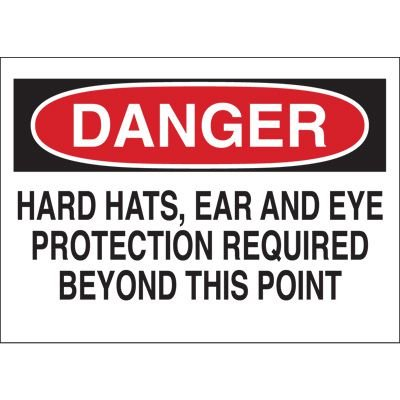 Required Equipment Sign