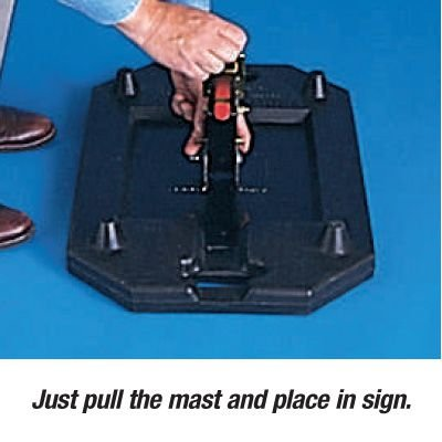 Rubber Sign Stand Systems