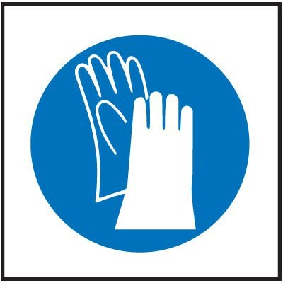 Gloves Right-To-Know Labels