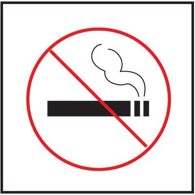 No Smoking Right-To-Know Labels