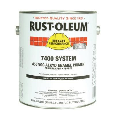 Rust-Oleum® High Performance 7400 System DTM 450 VOC Alkyd Enamel