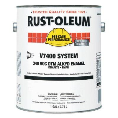 Rust-Oleum® High Performance V7400 System 340 VOC DTM Alkyd Enamel