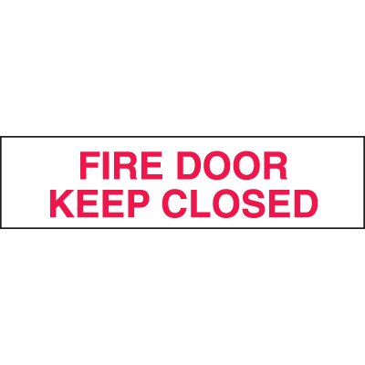 Setonsign® Value Packs - Fire Door Keep Closed