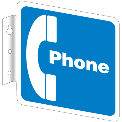 Telephone & ATM Signs - Phone