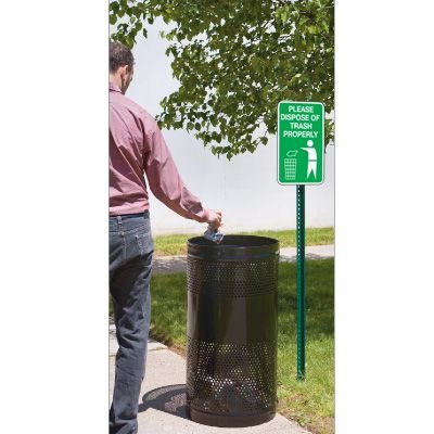 Trash & Property Signs- Please Dispose Of Trash Properly