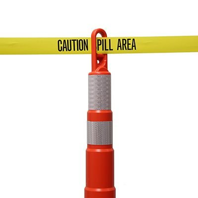Barricade Tape - Caution Spill Area