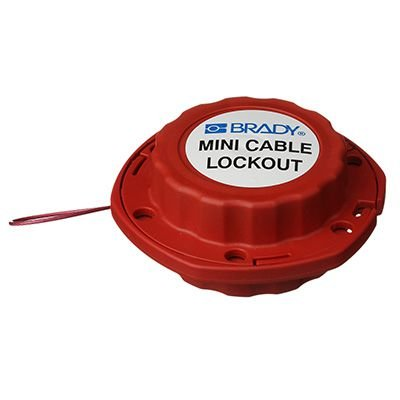 Brady MINI CABLE LOCKOUT W/NYLON CABLE - Part Number - 51442 - 1/Each