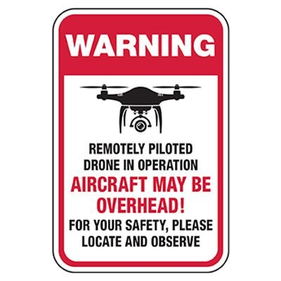 Warning: Aircraft May Be Overhead