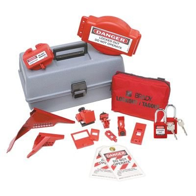 Brady Combination Lockout Toolbox With Brady Safety Padlocks & Tags - Part Number - 99684 - 1/Each