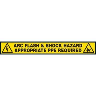 Label- Arc Flash & Shock Hazard Appropriate Ppe Required