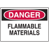 Chemical & HazMat Signs - Flammable Materials