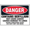 Beryllium Cause Cancer Labels