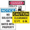 Custom Size Safety Signs