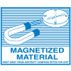 Magnetized Material Regulatory Labels