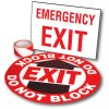 Exit Path Marking Kits - Emergency Exit