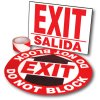Exit Path Marking Kits - Exit (Bilingual)