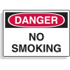 Extra Large OSHA Signs - Danger - No Smoking