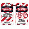 Self Laminating Employee Photo Lockout Tags - Energy Source Locked Out