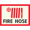 Fire Hose - Photoluminescent  Sign