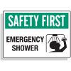 Safety First Signs - Emergency Shower