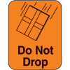 Do Not Drop Fluorescent Handling Labels