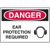 Harsh Condition OSHA Signs - Danger - Ear Protection Required