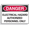 Fiberglass OSHA Sign - Danger  - Electrical Hazard