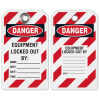 Lockout Tag- Equipment Locked Out By