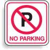 Mini No Parking Signs - No Parking