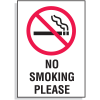 No Smoking Please Signs