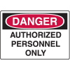 OSHA Danger Signs For Rough And Curved Surfaces
