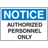 OSHA Notice Signs For Rough And Curved Surfaces