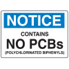 PCB Labels - Notice No PCBs