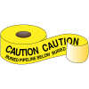Underground Warning Tape - Caution Buried Pipeline Below