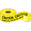 Underground Warning Tape - Caution Buried Fuel Line Below