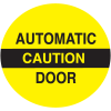 Caution Automatic Door Safety Door And Window Decals