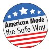 Safety Hard Hat Labels - American Made