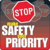 Make Safety Your Priority Floor Markers