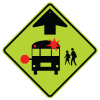 School Safety Signs - Bus Crossing